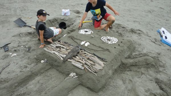 Sand Sculpture and Big Dig 2015.