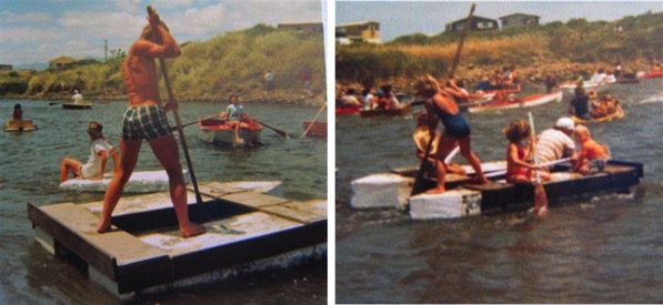 Photos from a WBRA Boat Day raft race a few years ago.