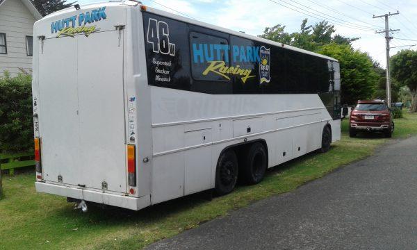 Hutt Park Racing.