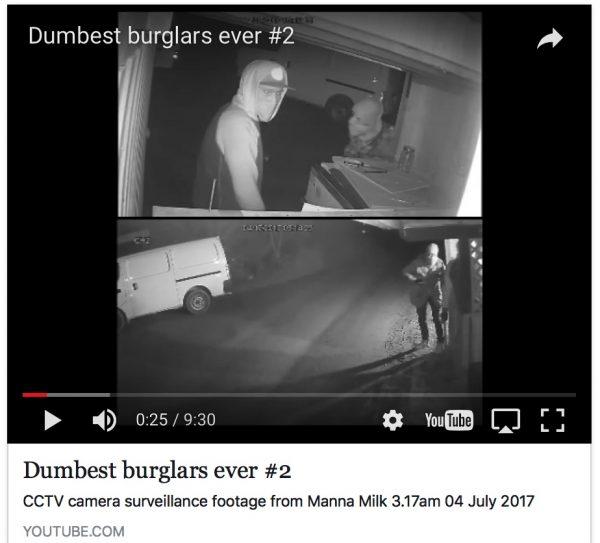 Manna Milk honesty box burglars.