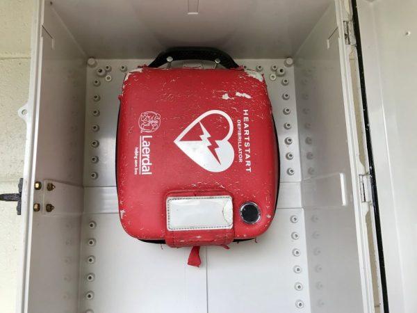 AED Defibrillator Kit.