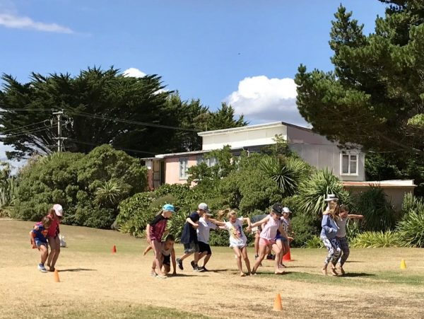 Waikawa Beach Sports Day 01 January 2018.
