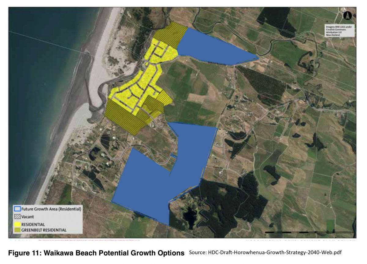 Possible new housing areas under HDC Growth Plan.
