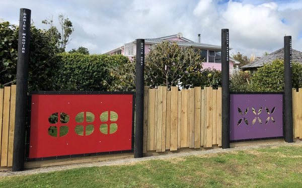 The Conscientious Objectors fence.