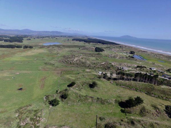 Lake Waiorongomai and lake at the south end of Reay Mackay Grove.