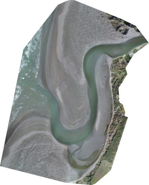 River mouth photo 24 April 2019.