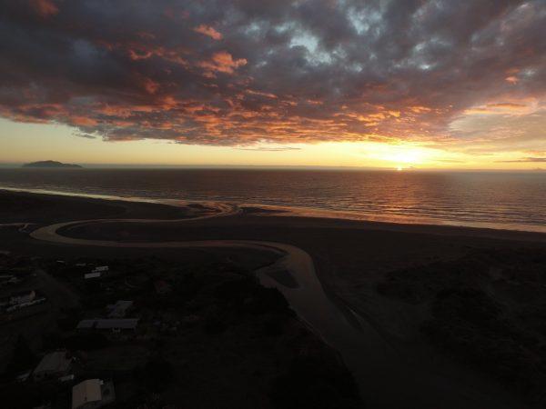 Waikawa Beach sunset. Photo by 'A friend of Waikawa'.