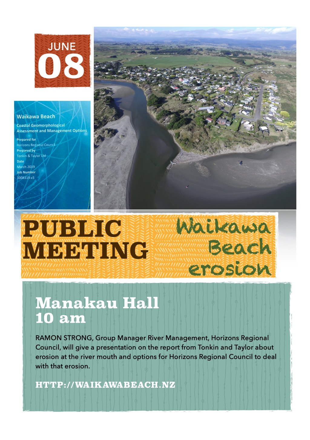 Erosion meeting flyer.