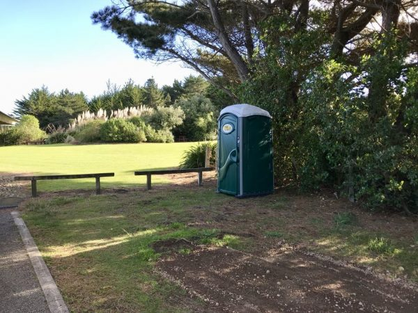 Portaloo available in the meantime.