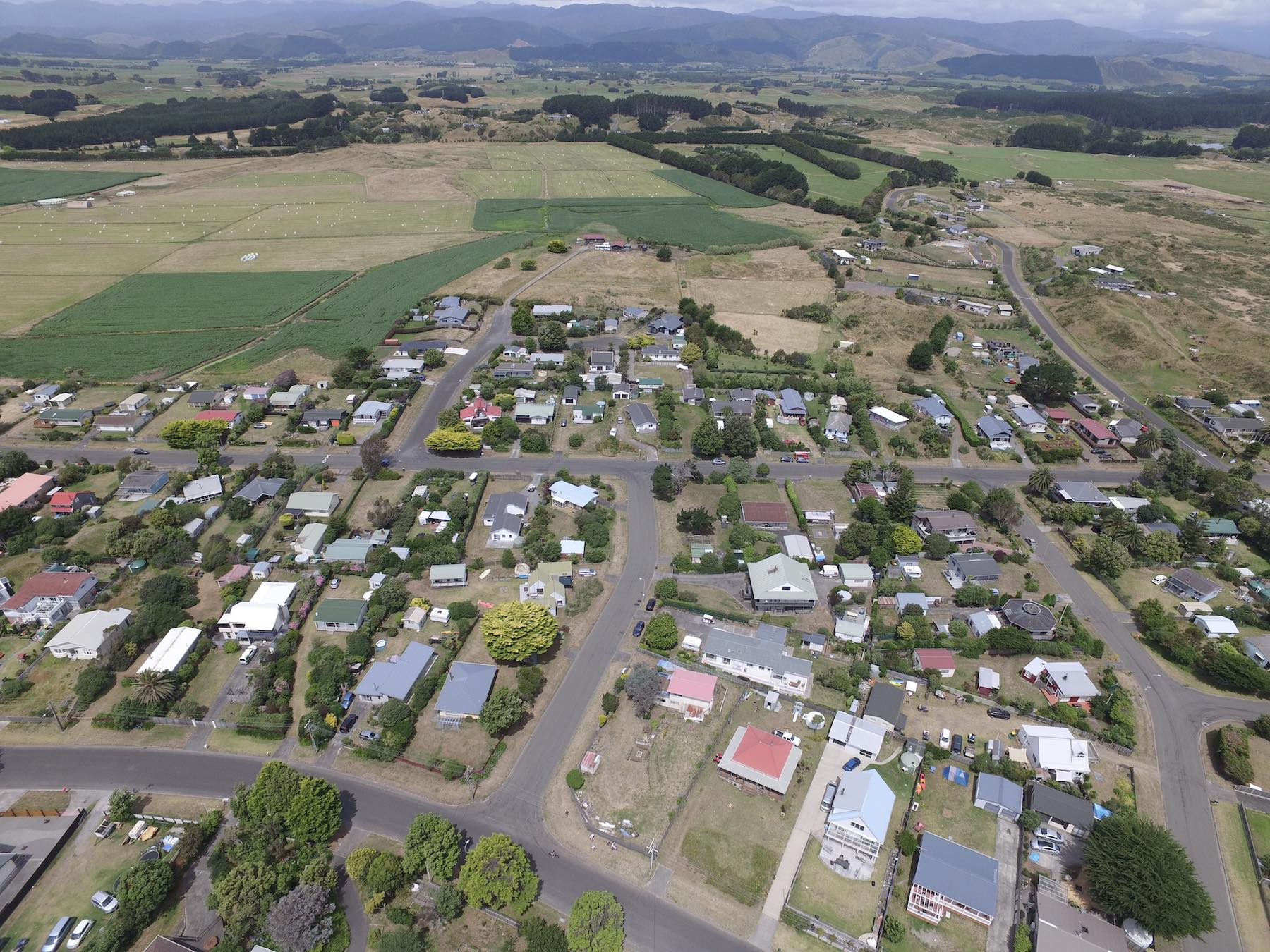 Drone Photo 0399. The village.