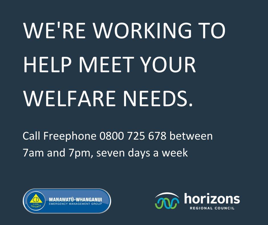 Helpline info.